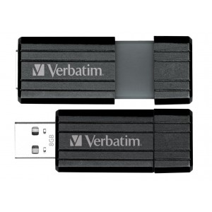 Pendrive VERBATIM Pin Stripe 104 MBsec 8GB     UV8GPF