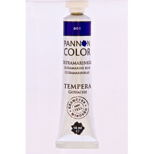 Tempera PANNONCOLOR 18ml 641   ultramarinkék
