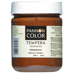 Tempera PANNONCOLOR 200ml 626  középbarna