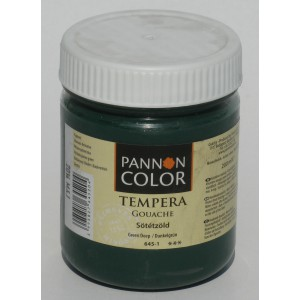 Tempera PANNONCOLOR 200ml 645   sötétzöld