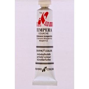 Tempera PANNONCOLOR 18ml 611   magenta