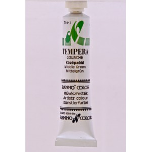 Tempera PANNONCOLOR 18ml 616   középzöld