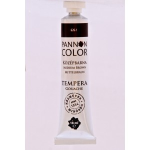 Tempera PANNONCOLOR 18ml 626   középbarna