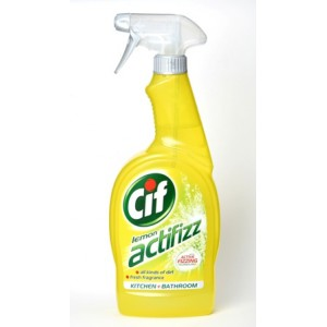CIF Actifizz Spray 750Ml LemonOcean