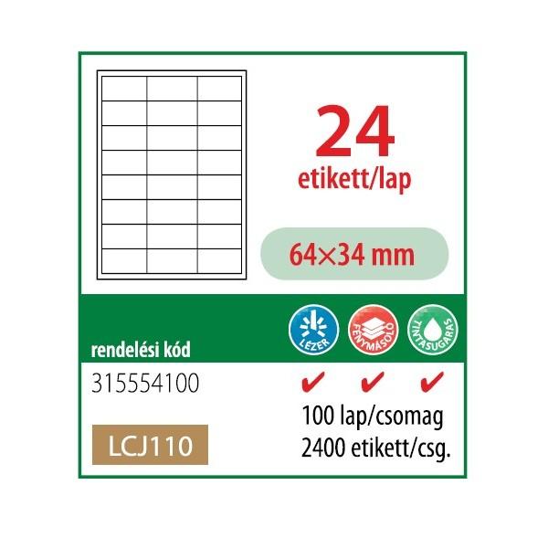 288e987a7a Barát Papír webáruház - Etikett cimke OFFICE 21 (64x34) univerzális ...