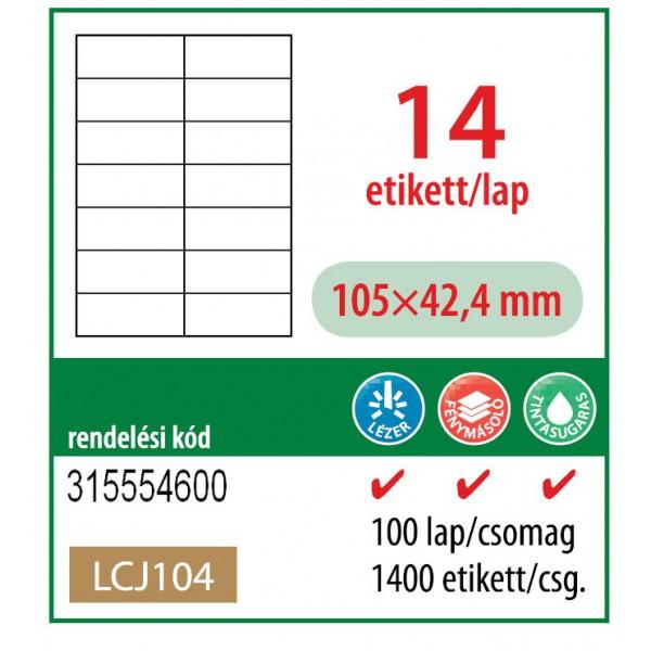 1925f3c829 Barát Papír webáruház - Etikett cimke OFFICE 21 (105x42,4 ...