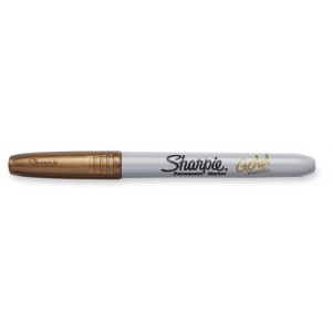 Marker SHARPIE Metallic arany 1,4mm