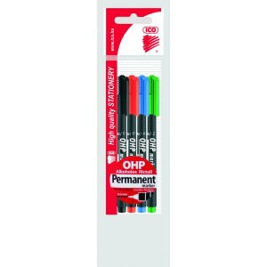 Rost 4klt OHP Top Marker permanent F 0,5mm