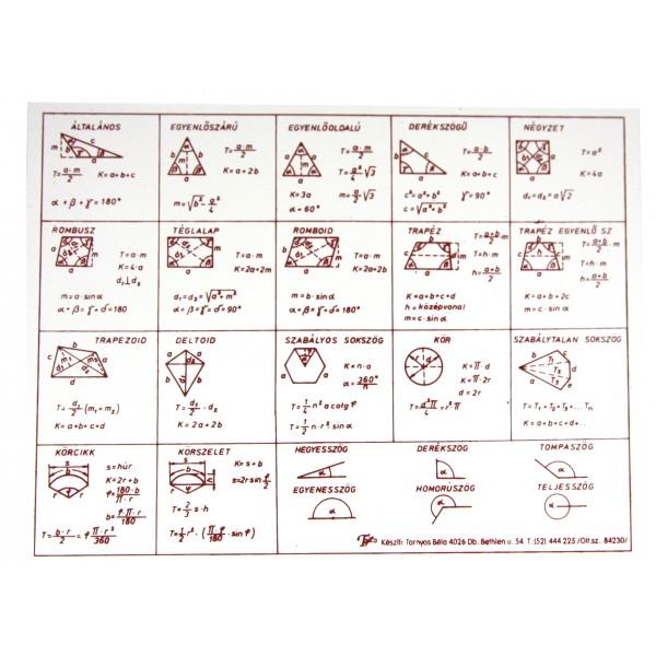 0dd981b78e32 Barát Papír webáruház - Síkidomok, területszámítás A/5
